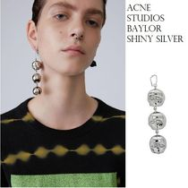 ACNE Baylor silver Brass earing ブラス製シルバースカルピアス