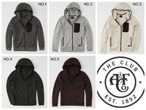 [送料無料]Abercrombie&Fitchアバクロ:  SWEATER FLEECE JACKET