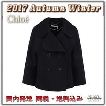 ★関税送料込★ 国内発送 CHLOE double-breasted cropped coat