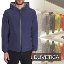 【DUVETICA】FULL ZIP PEGASO SPORTS JACKET/BLUE