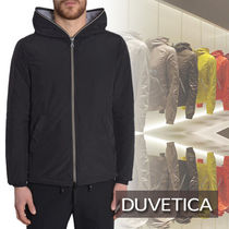 【DUVETICA】FULL ZIP PEGASO SPORTS JACKET/BLACK