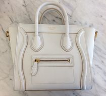 【CELINE】17/18AW 定番人気NANO LUGAGGE (Optic White)
