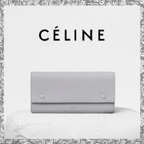 2017Winter 先取り♪CELINE  LARGE FLAP MULTIFUNCTION 長財布