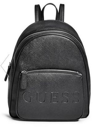 追尾/関税/送料込 Guess CHANDLER SAFFIANO LOGO BACKPACK