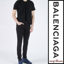 【国内発送】Balenciaga Tシャツ Asymmetric Crewneck T-Shirt