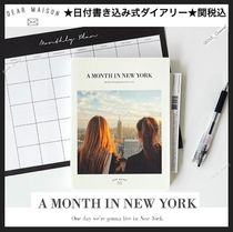 DEAR MAISON A MONTH in New York City 日付書き込式ダイアリー