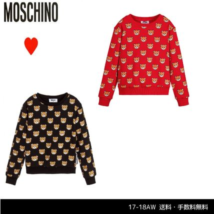 17-18AW【Moschino】ベアー柄トップス 大人OK 2色展開