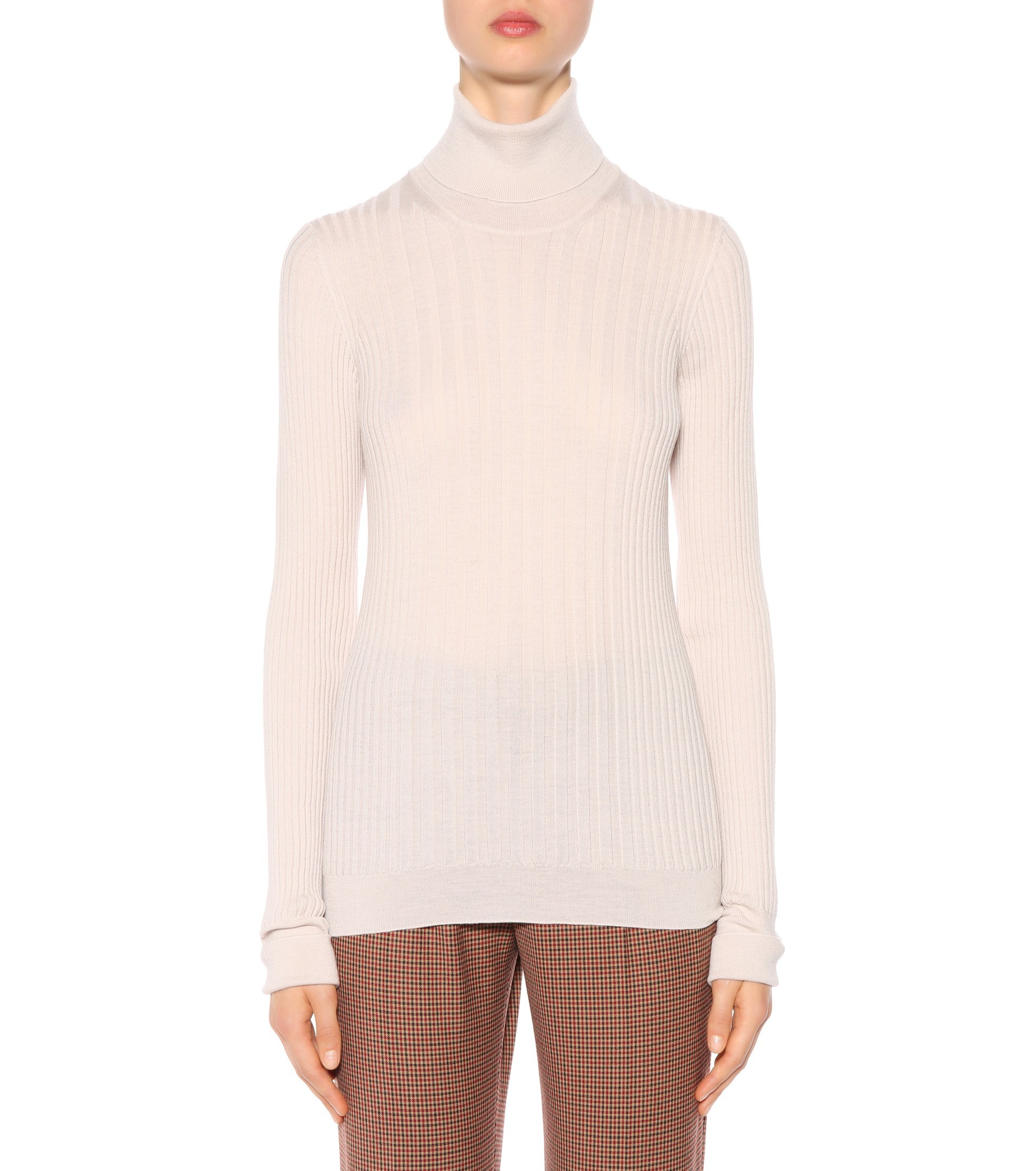 17-18AW MMF100 RIBBED WOOL TURTLENECK SWEATER