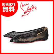 【CHRISTIAN LOUBOUTIN】FolliesStrassブラックシースルー