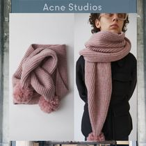 【17AW NEW】 Acne Studios_men /Sia S Wool / ポンポンスカーフ