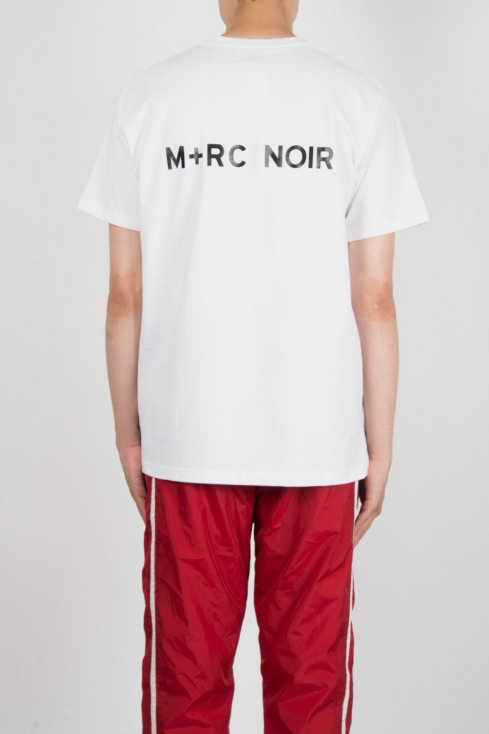 JB愛用★M+RC NOIR NO BASIC Tシャツ IN WHITE【関税送料込】