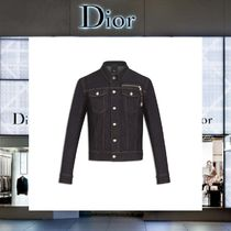 【17AW NEW】 Christian Dior_men /デニムジャケットWITH ZIP