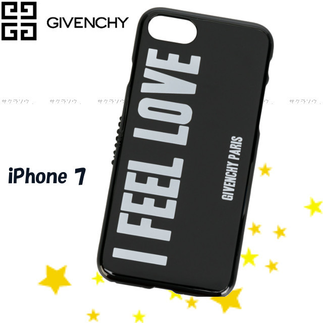 【GIVENCHY 】プリントロゴ★スローガン iPhone 7 ケース