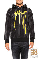 PALM ANGELS DRIPPING WOLFフーディー