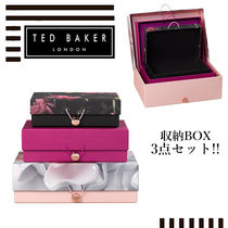 TED BAKER(テッドベーカー) 棚・ラック・収納 【TED BAKER】収納ボックス3点セット ギフトにも