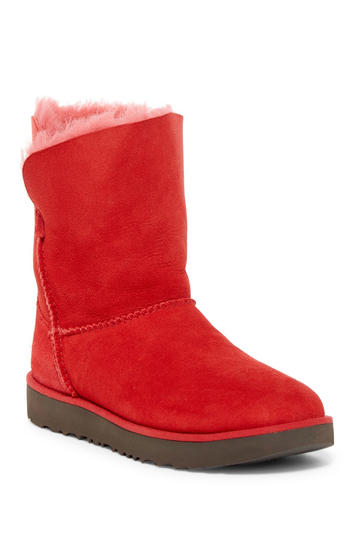 UGG Australia セール!Cuff Genuine Shearling Lined Boot (2色)