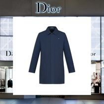 【17AW NEW】 Christian Dior_men /METAL BEEナイロンコートBL