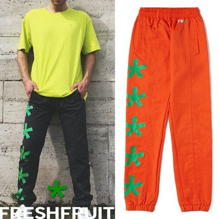 *Fresh Fruit* STARLOGO NYLON PANTS 3色 /Unisex 男女兼用