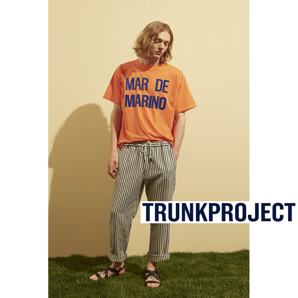 ★韓国の人気★TRUNK PROJECT★Mar de Marino T-shirt★UNISEX