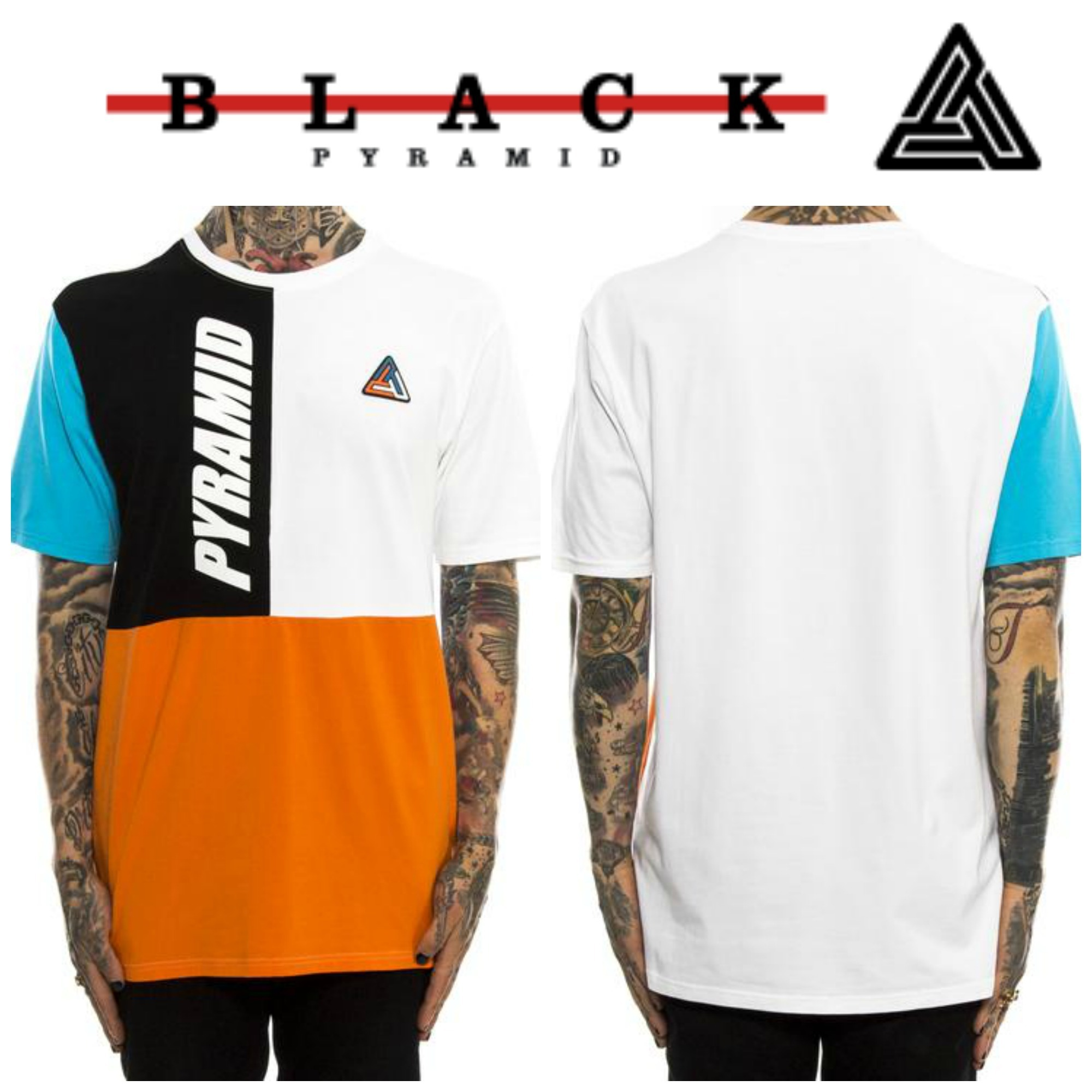 【Chris Brown愛用】新作17FW☆海外限定☆PYRAMID RETRO T-SHIRT