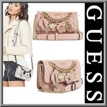 【Guess】新作☆存在感あり!!ショルダーバッグ ミニ ピンク