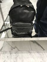 直営店購入!Saint Laurent☆washed leather CITY BACKPACK