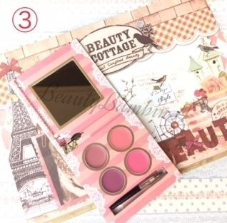Beauty Cottage リップグロス・口紅 Beauty Cottage リップパレット(4)