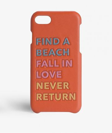 iPhone 7 ケース★THE CASE FACTORY★FIND A BEACH★オレンジ★