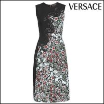 VERSACE(ヴェルサーチ)★Embroidered Lace Dress with Silk