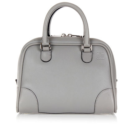 ★LOEWE★Vipセール Amazona Mini Bowling Bag Grey