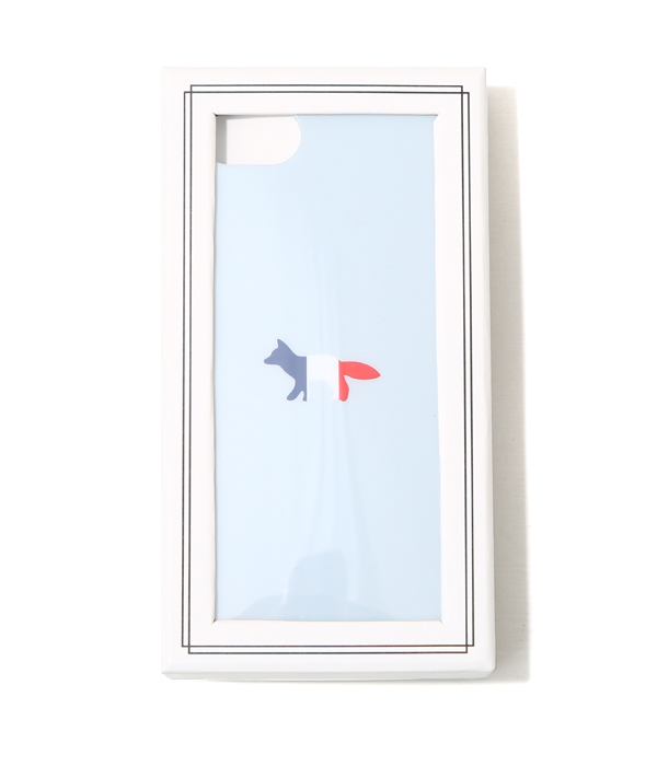 即配★MAISON KITSUNE 17AW IPHONE CASE TRICOLOR FOX 超人気