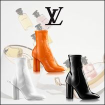 LOUIS VUITTON BOTTINE SILHOUETTEレザーショート3色