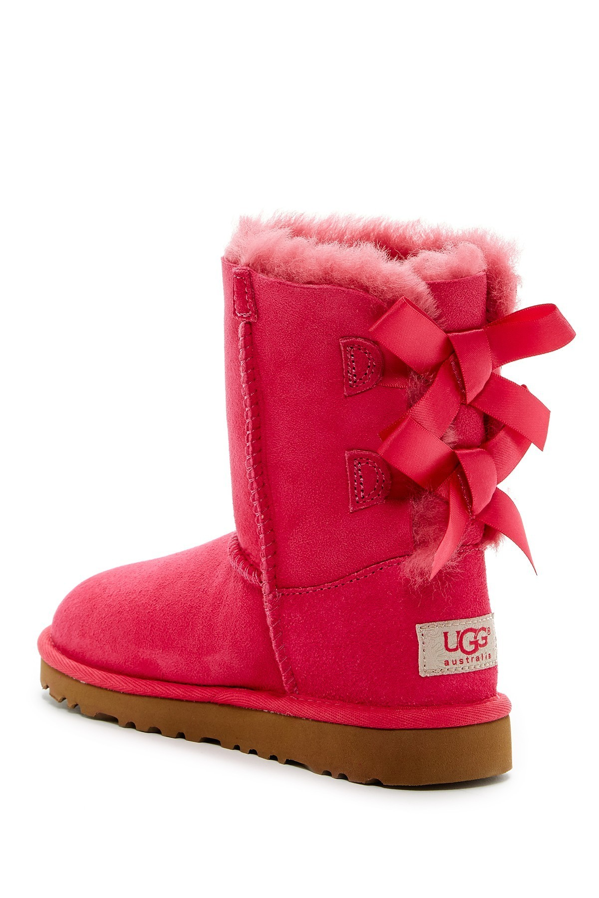 UGG セール! Bailey Bow GenuineシープスキンブーツToddler(4色)