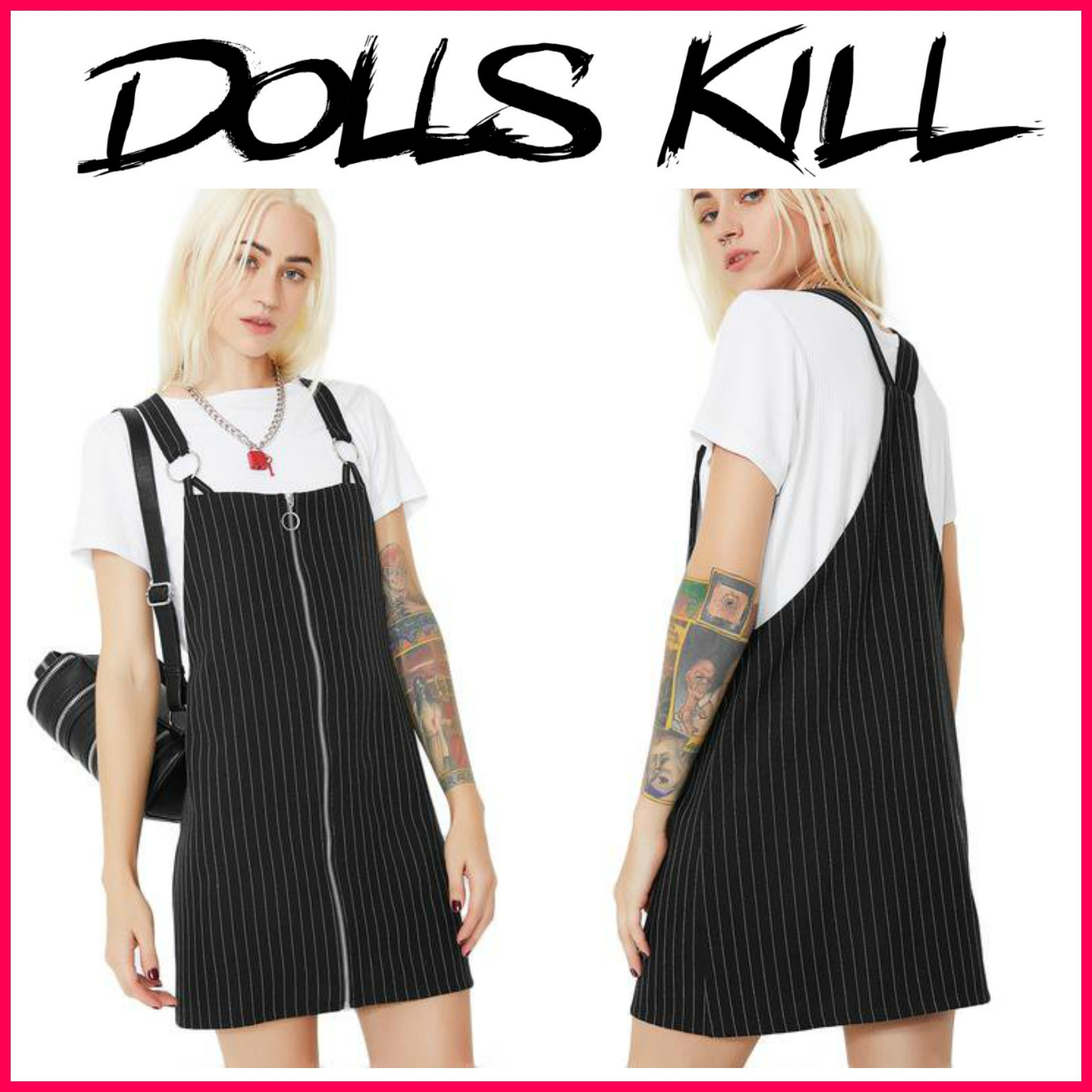 ☆日本未入荷☆17-18AW新作DOLLS KILL*MISERY DRESS