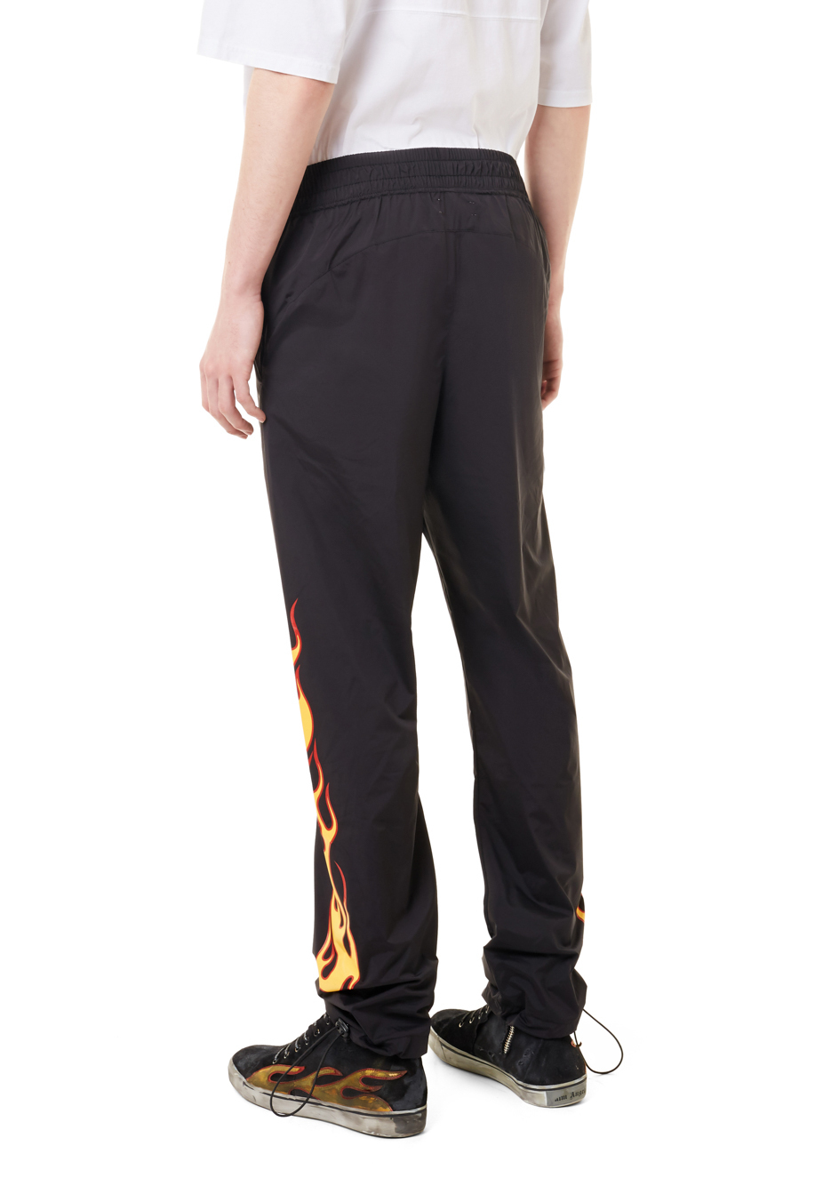【PALM ANGELS】☆セレブ愛用☆新作☆PALMS AND FLAMES PANT