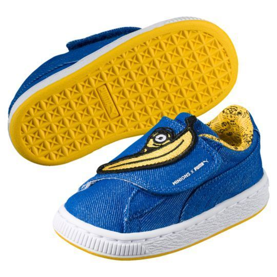 ミニオンズ MINIONS BASKET WRAP STATEMENT DENIM KIDS SNEAKERS