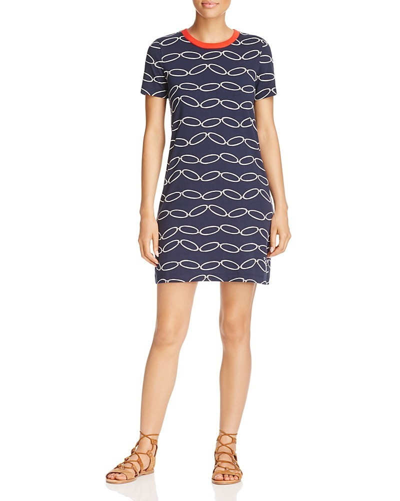 Tory Burch Michaela Chain-Print Dress