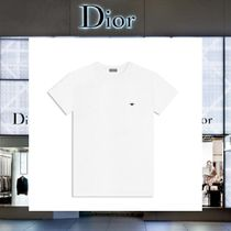 【17AW NEW】 Christian Dior_men /Round Neck BEE刺繍TシャツWT