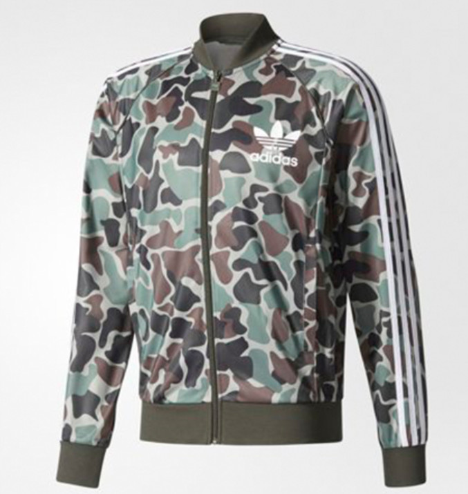 ◆adidas◆ CAMO SST TRACK TOP BS4959