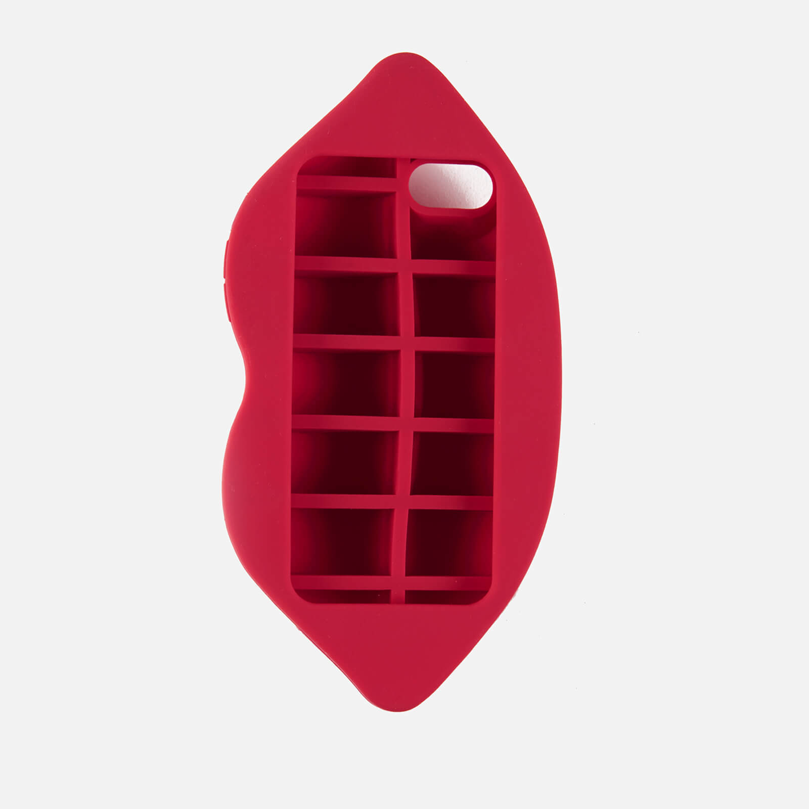 関送込【Lulu Guinness】Red Lipデザイン★iPhone7ケース*Red