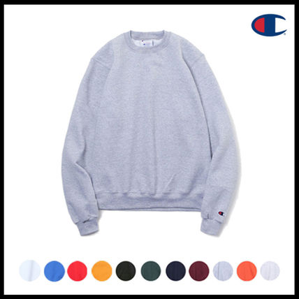 ★男女共用★ [CHAMPION] - CREWNECK SWEATSHIRTS*11COLOR