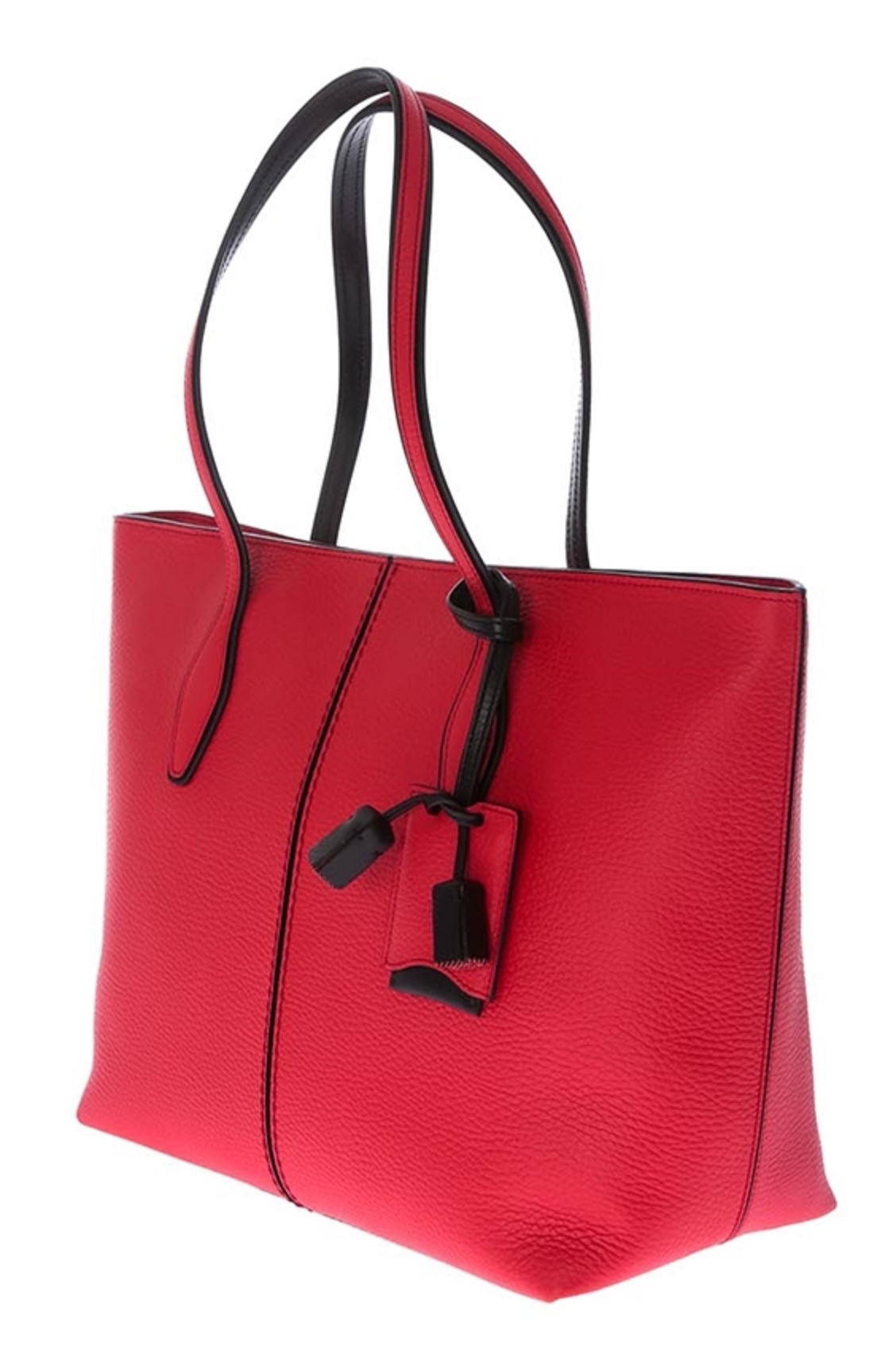 安心の関送込【TOD'S】Shopping Tote Bag Red