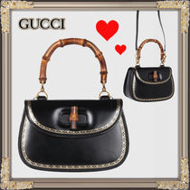 17-18AW★GUCCI★バンブークラシックバッグ
