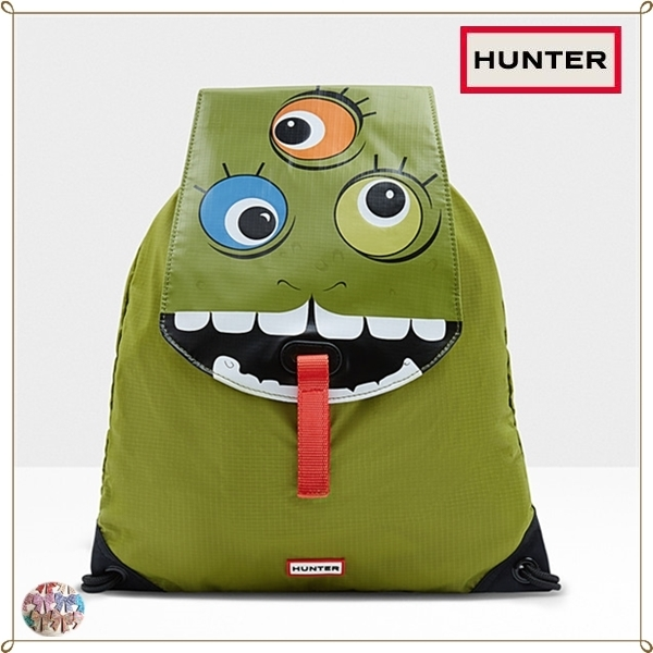 HUNTER☆Original Kids Drawstring Character Backpack リュック