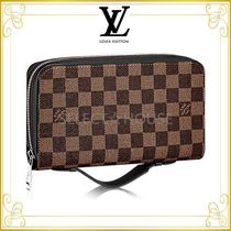 2017AW Louis Vuitton ルイヴィトン ジッピーXL ダミエ・エベヌ