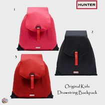 HUNTER☆Original Kids Drawstring Backpack リュック