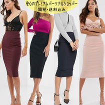 国内発送ASOS High Waist Longerline Pencil Skirt