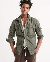 【Abercrombie&Fitch】MILITARY SHIRT JACKET ミリタリージャケ