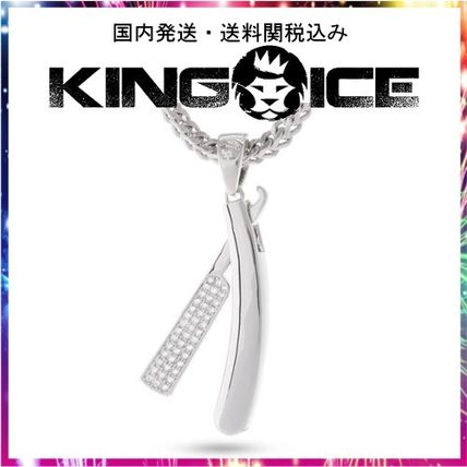 King Ice ネックレス・チョーカー 日本未入荷☆KING ICE☆Straight RZR Barber Shop Necklace