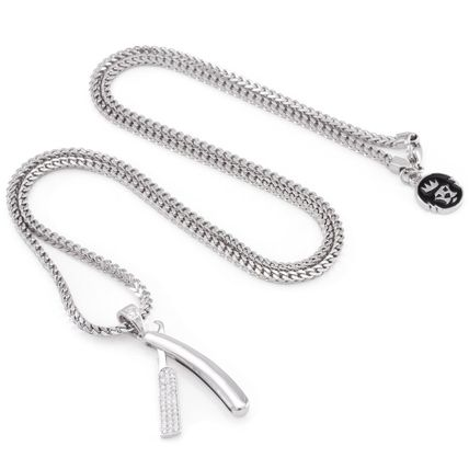 King Ice ネックレス・チョーカー 日本未入荷☆KING ICE☆Straight RZR Barber Shop Necklace(4)